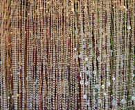 Background of colorful  beads Stock Photos