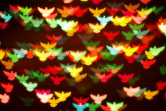 Background of colorful birds Stock Photography