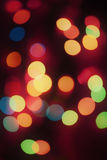 Background with colorful blurred lights Royalty Free Stock Photos