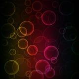 Background of colorful bokeh. Vector art illustration stock illustration