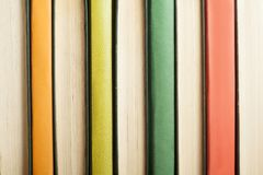 Background of colorful books. Back to school.Education concept.