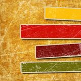 Background with colorful boxes Royalty Free Stock Photography
