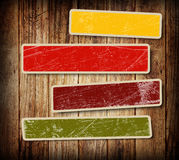Background with colorful boxes Royalty Free Stock Images