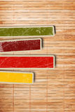 Background with colorful boxes Stock Photos