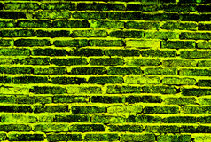 Background of colorful brick wall. Kunming Stock Photos