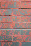 Background of colorful brick wall texture Stock Image