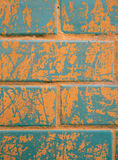 Background of colorful brick wall texture Royalty Free Stock Photography