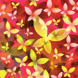 Background with colorful butterflies. Stock Images