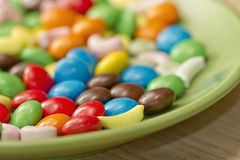 Background of colorful candy Stock Image