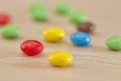 Background of colorful candy Stock Photography