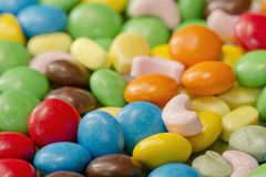 Background of colorful candy Stock Photo