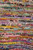 Background of colorful carpet Royalty Free Stock Image
