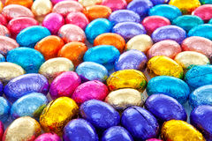 Background of colorful easter eggs Royalty Free Stock Photos