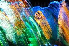 Background of colorful Christmas lights Stock Image