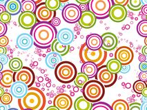 Background with colorful circle Royalty Free Stock Image