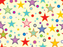Background with colorful circle, dots Royalty Free Stock Images