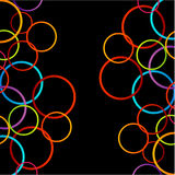 Background with colorful circles Stock Images