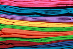 Background of colorful clothes Royalty Free Stock Images