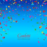 Background with colorful confetti. Vector Stock Photos