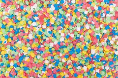 Background OF colorful confettis Stock Image