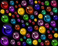 Background of colorful decorative candy elements. Stock Photography