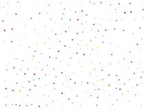Background with colorful glitter, confetti. Polka dots, circles, rounds. Fiesta pattern. Vector illustration. Background with colorful glitter, confetti. Polka Royalty Free Stock Image