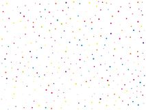 Background with colorful glitter, confetti. Polka dots, circles, rounds. Fiesta pattern. Vector illustration. Background with colorful glitter, confetti. Polka Royalty Free Stock Images
