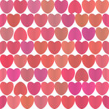 Background with colorful hearts Royalty Free Stock Photos