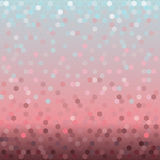 Background with colorful hexagons Royalty Free Stock Photography