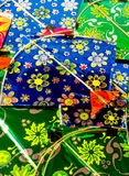 Background of colorful indian kites Royalty Free Stock Image
