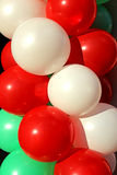 Background of colorful Inflatable balls Stock Photography