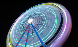 Background of colorful light trails . Royalty Free Stock Image