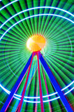 Background of colorful light trails . Stock Image