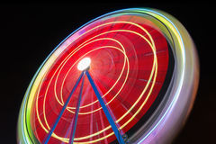 Background of colorful light trails . Royalty Free Stock Photography