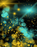 Background with colorful lights Stock Photos