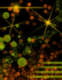 Background with colorful lights Royalty Free Stock Photos