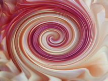 Background, colorful  lines are twisted spiral.  brightly colored lines purple, white, yellow,red; violet, pink Royalty Free Stock Photo