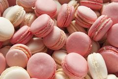 Background of colorful macaron royalty free stock photos