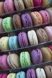 Background of colorful macaroons Stock Image