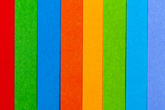 Background of colorful paper  parallel vertical stripes.  Stock Images