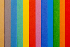 Background of colorful paper  parallel  vertical stripes. Background of colorful paper  parallel thin vertical stripes Royalty Free Stock Photos