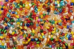 Background of colorful plastic beads Royalty Free Stock Image