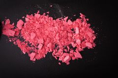 Background with colorful powder. Stock Photos