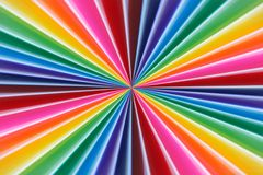 Background of colorful radial rays going from the center. Soft f royalty free stock photography