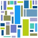 Background with colorful rectangles. Vector background.  royalty free illustration