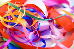 Background from colorful ribbon Royalty Free Stock Photos