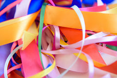 Background from colorful ribbon Stock Photo