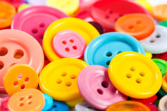 Background from of colorful round buttons Royalty Free Stock Image