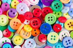 Background from of colorful round buttons Royalty Free Stock Images
