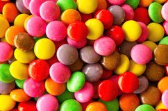 Background of colorful sprinkles Stock Image